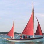 Drascombe Lugger for hire in Baltimore